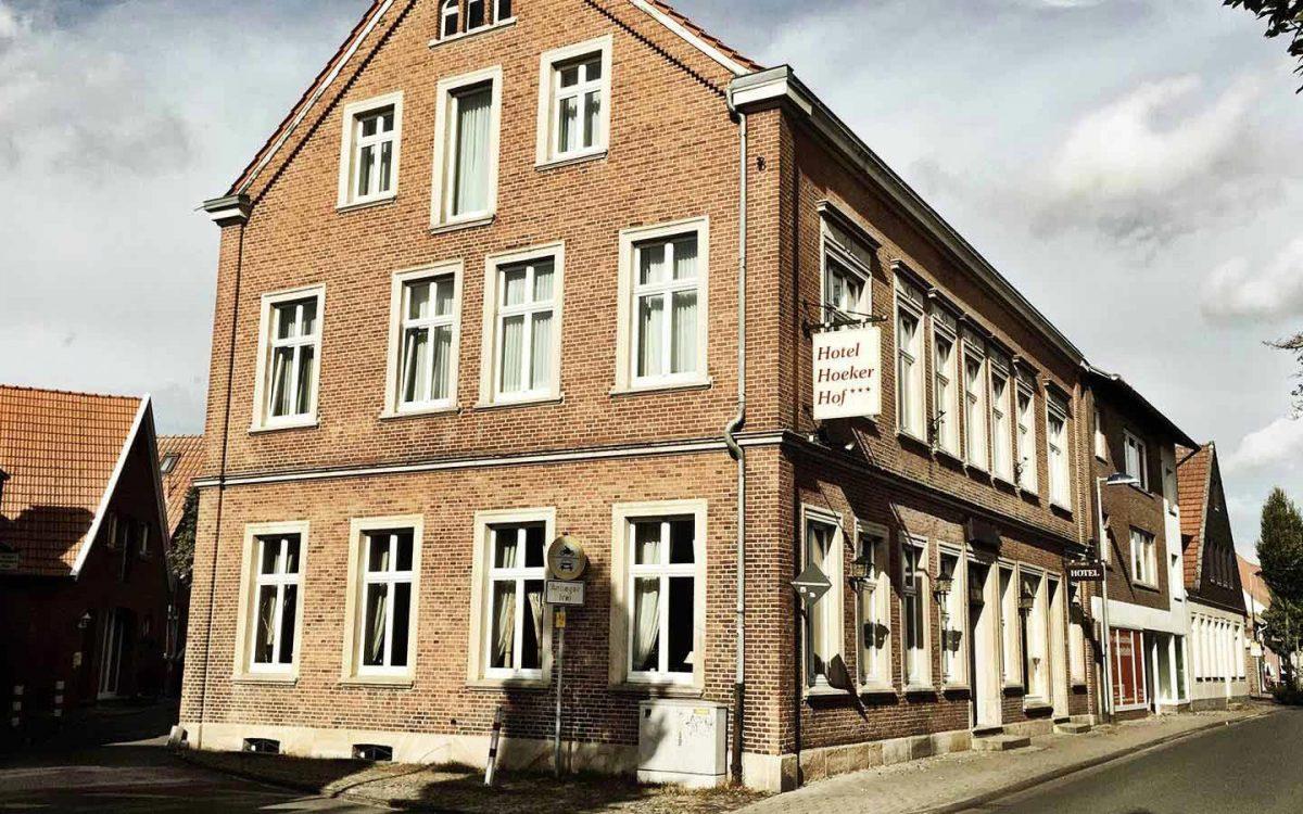 Außenansicht Hotel Hocker Hof