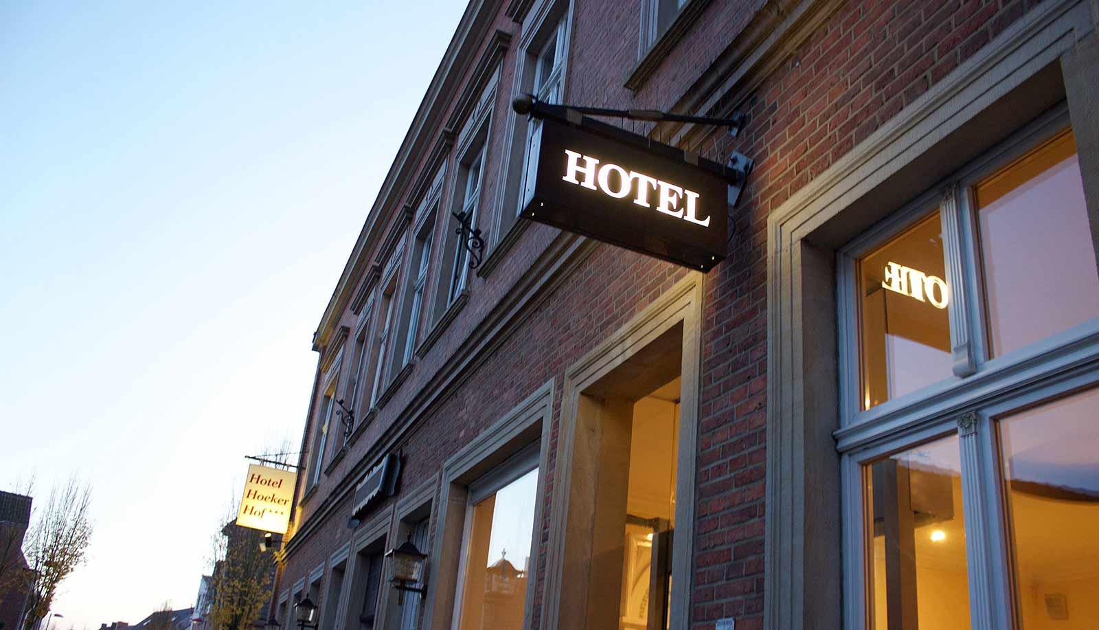 Außenansicht des Hotel Hoeker Hof