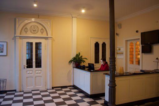 Rezeption im Hotel Hoeker Hof in Greven